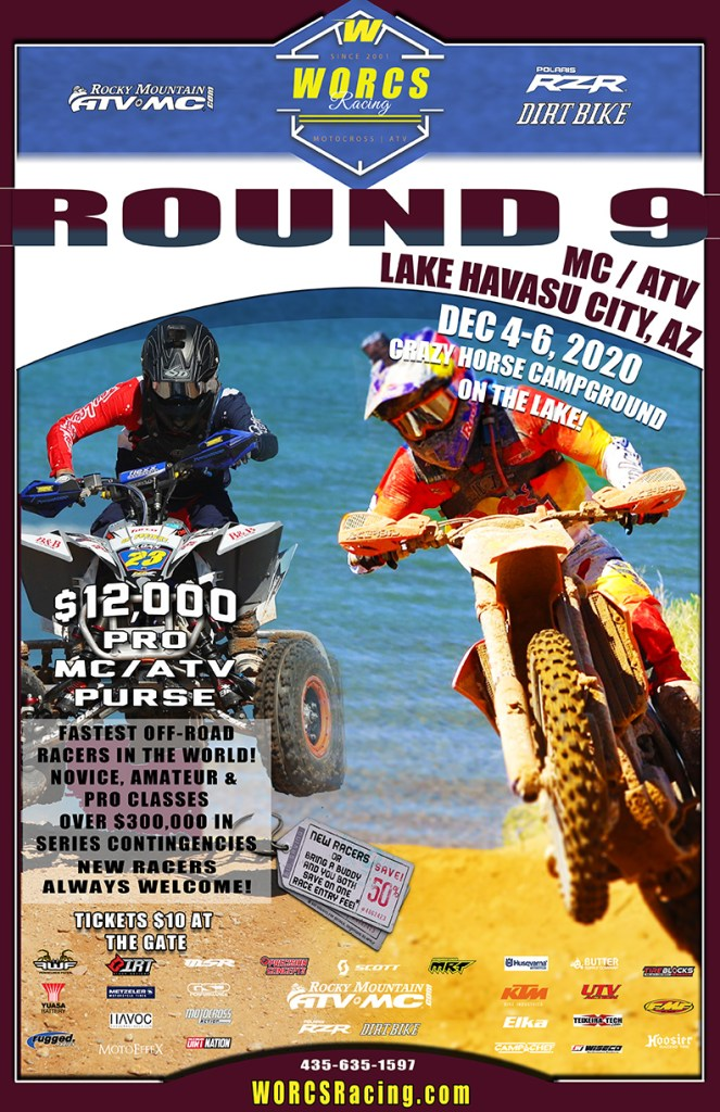 2020 Round 9 MC ATV Havasu Event Flyer