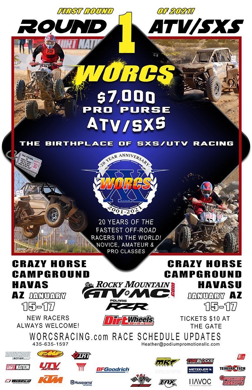 FLYER 2021 Round 1 ATV SXS Havasu