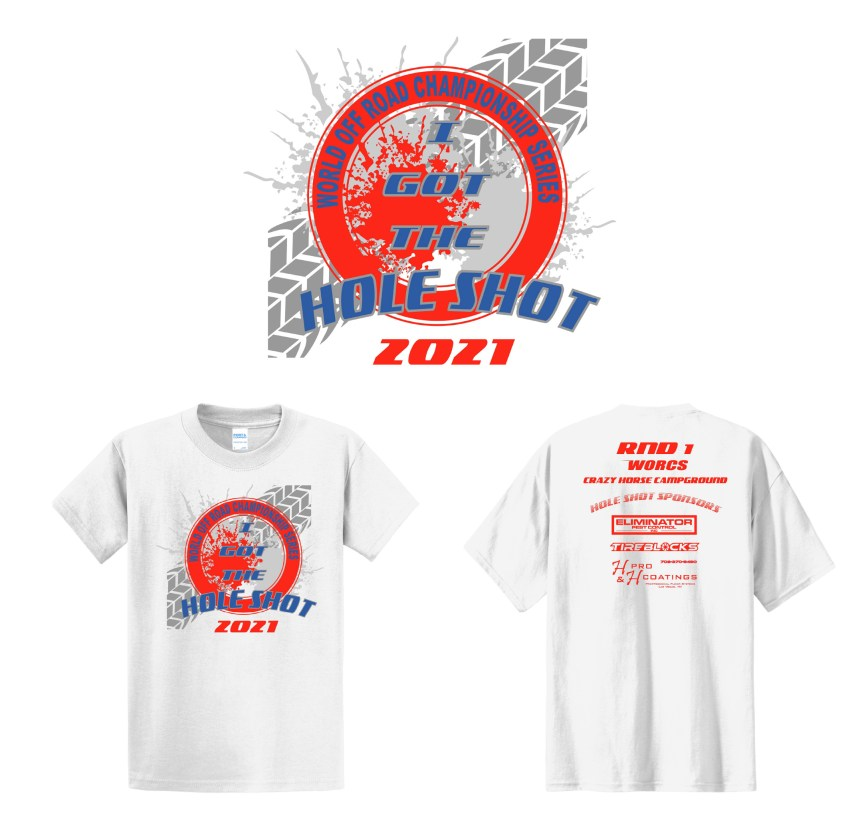 2021 ATV Round Holeshot T-Shirt