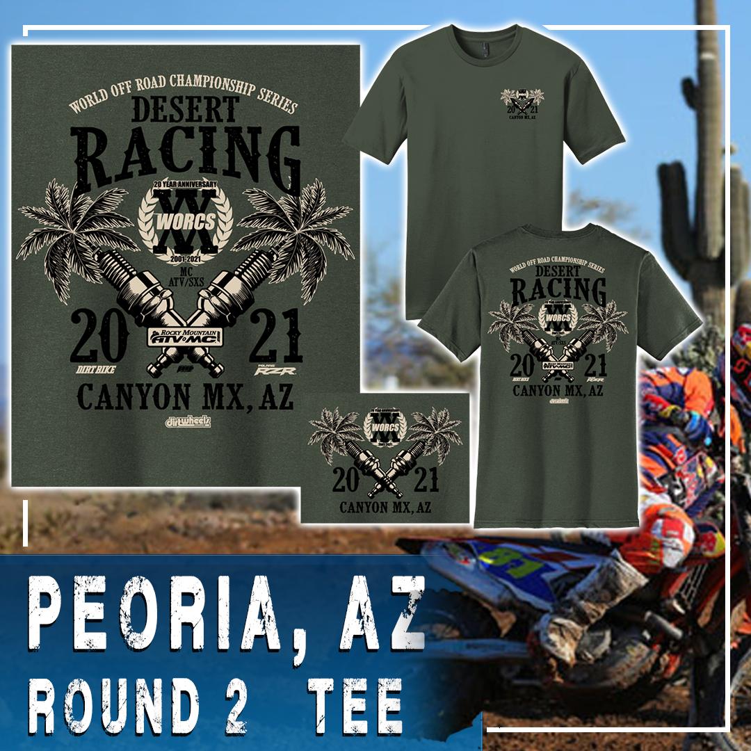 2021 Round 2 MC ATV SXS Peoria T-Shirt Web