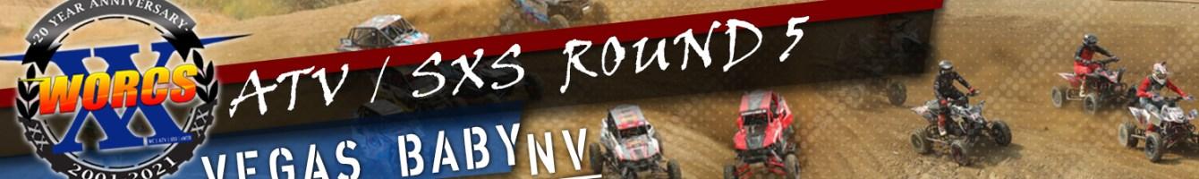 ATV SXS ROUND 5 LAS VEGAS NV