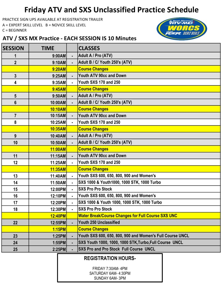 2021 Round 4 ATV SXS - TAFT MX