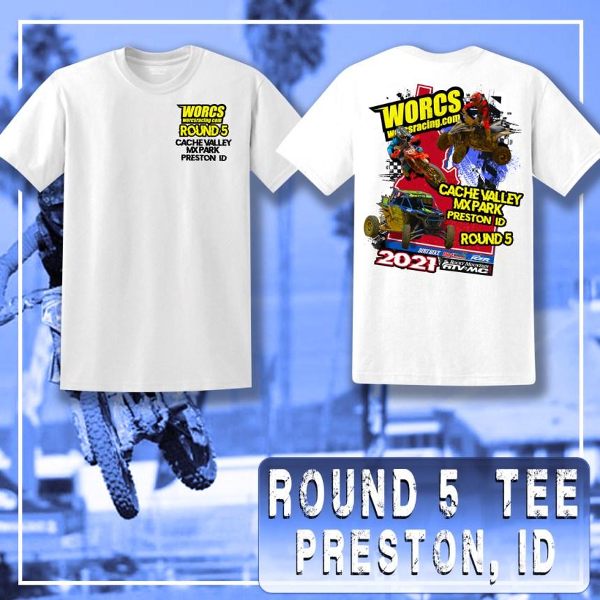 2021 Round 5 MC ATV SXS T-Shirt