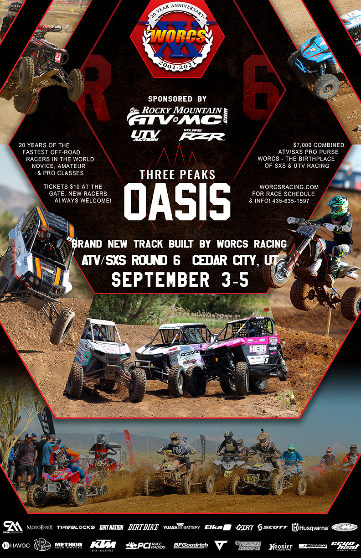 2021 Round 6 ATV SXS Cedar City