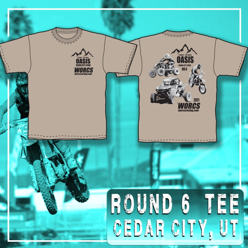 2021 Round 6 MC ATV SXS T-Shirt