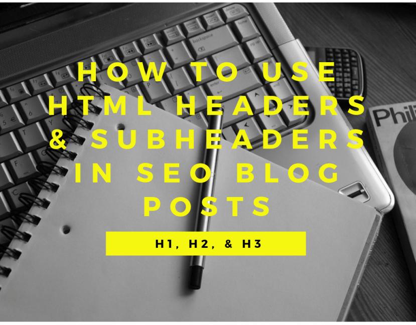 HTML headers & subheaders feature image