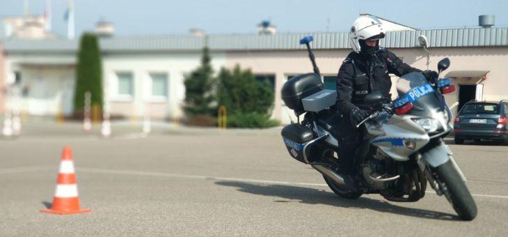 Białostoccy policjanci szkolili się z jazdy motocyklem