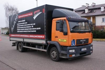 Sprzedaż pojazdu ciężarowego MAN
