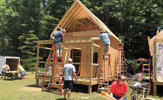 Tiny Houses Sanctuary For Needy Shows God Is Good
