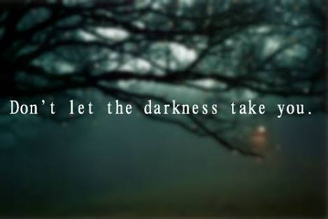 tears and darkness