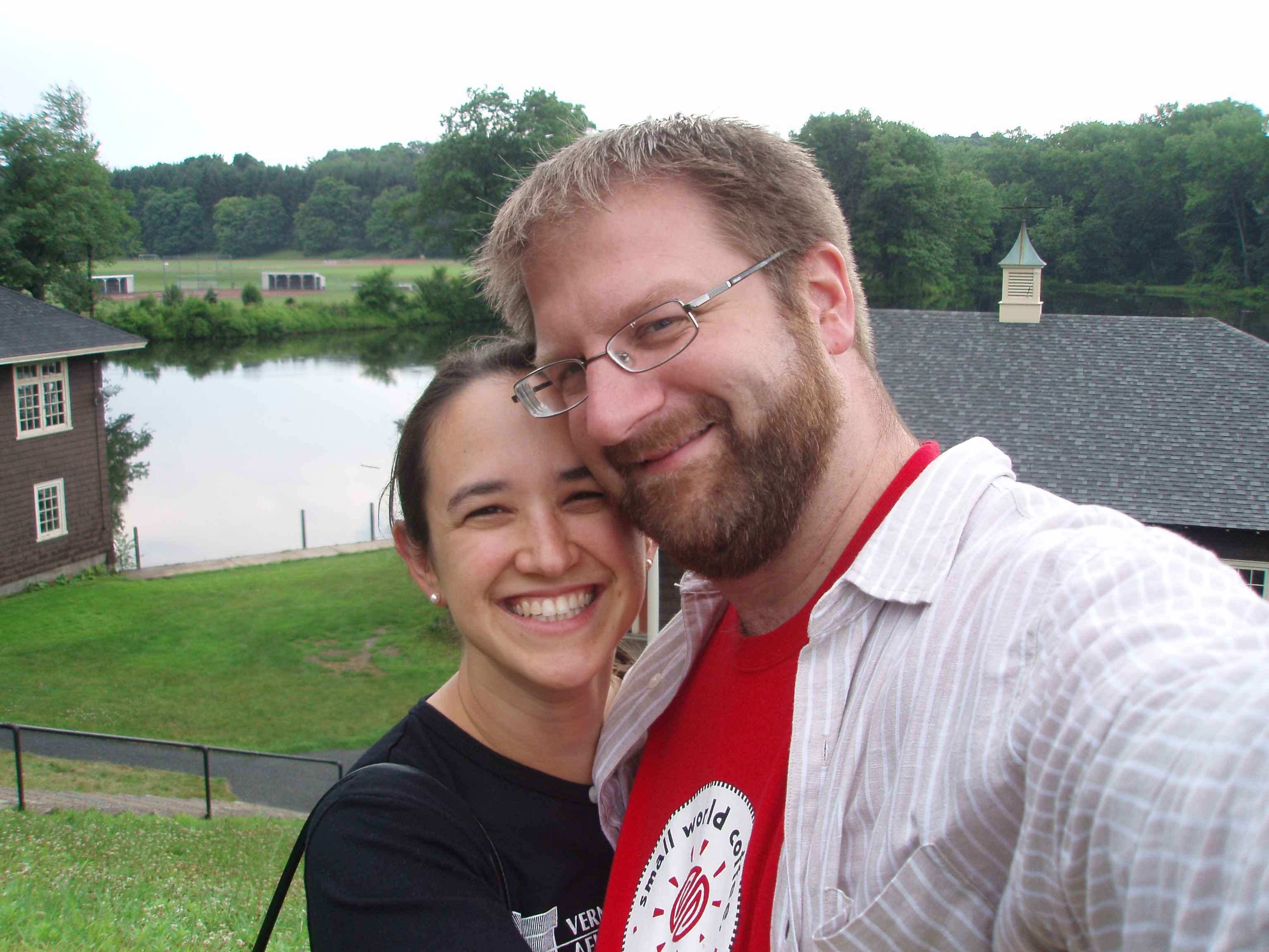 Hans and Chloe' at Smith College 2007
