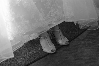 Shasta's dress and shoes