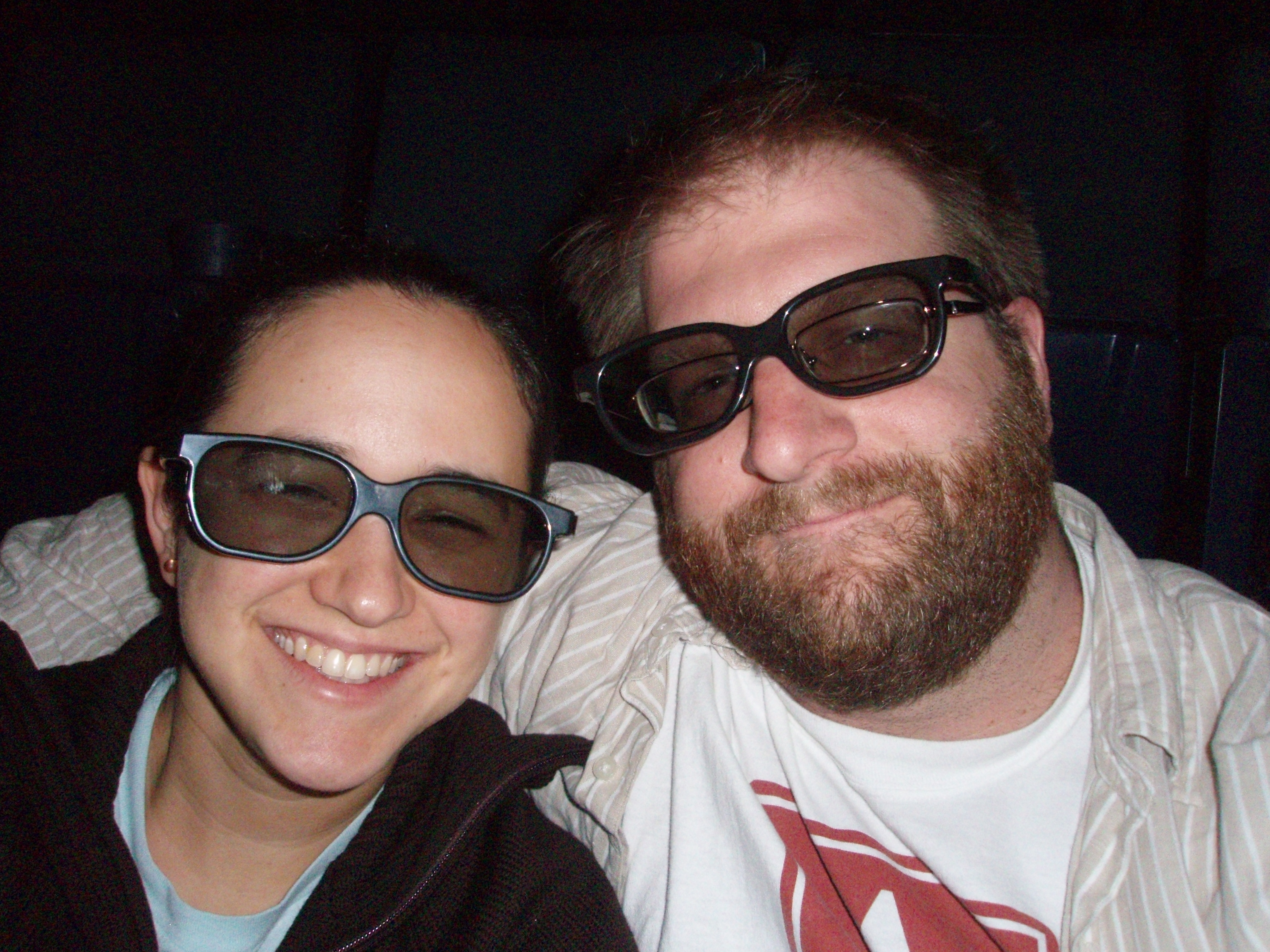 The tradition of watching a 3D movie (my first!)