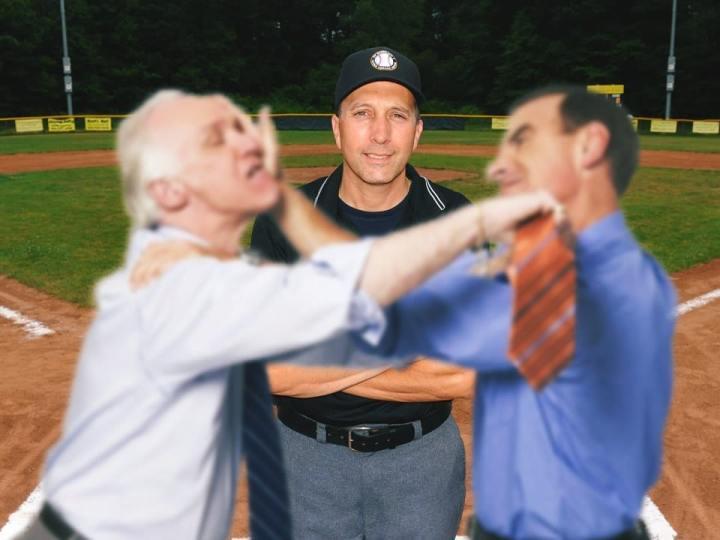 Little League Ump Finds New Passion Reffing Drunken Dad Fights