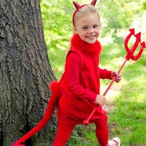 teaching a child to be a devil