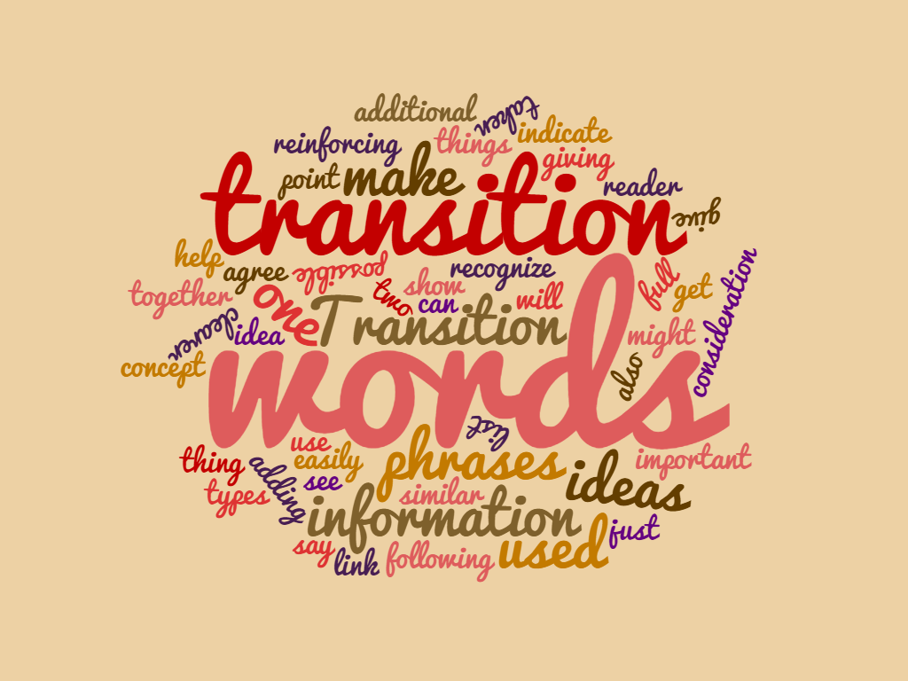 What Are Transition Words