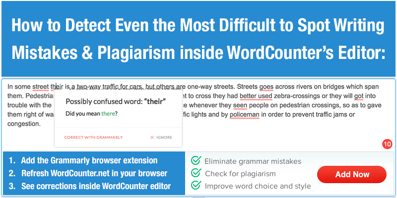 wordcounter count words correct