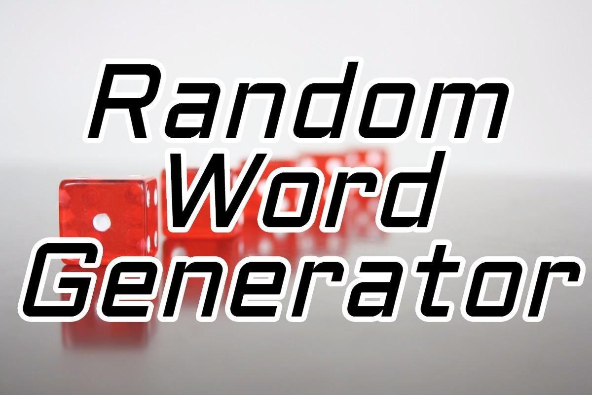 random word generator wordcounter