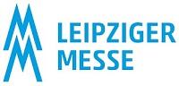 Logo der Leipziger Messe in Blau