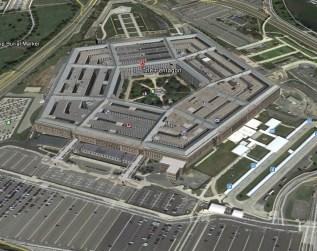 google earth--pentagon