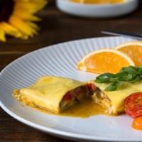 Western-style Veggie Omelet