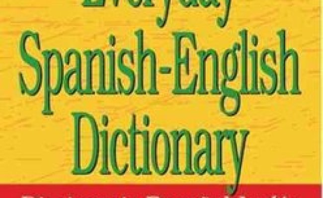 Buy Webster S Everyday Spanish English Dictionary By