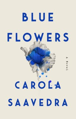 Blue Flowers by Saavedra Carola