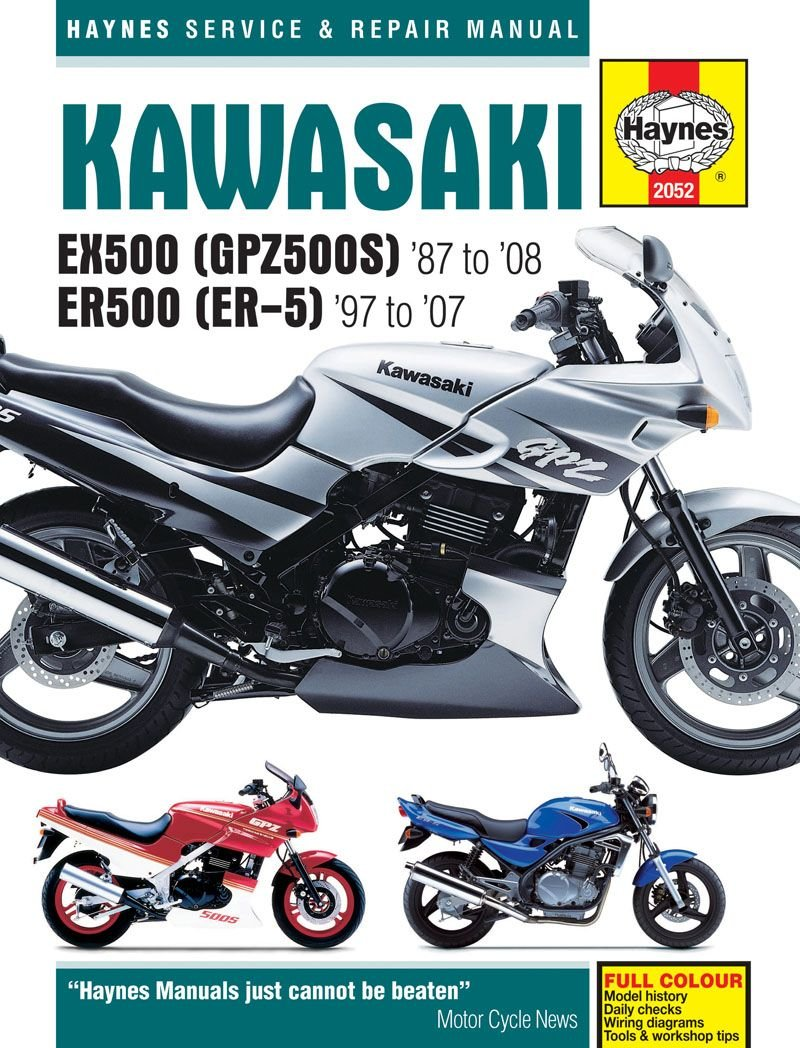 medium resolution of kawasaki ex500 gpz500s er500 er 5 service an