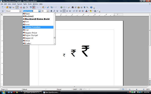 Rupee Symbol In True Type Font I Said It