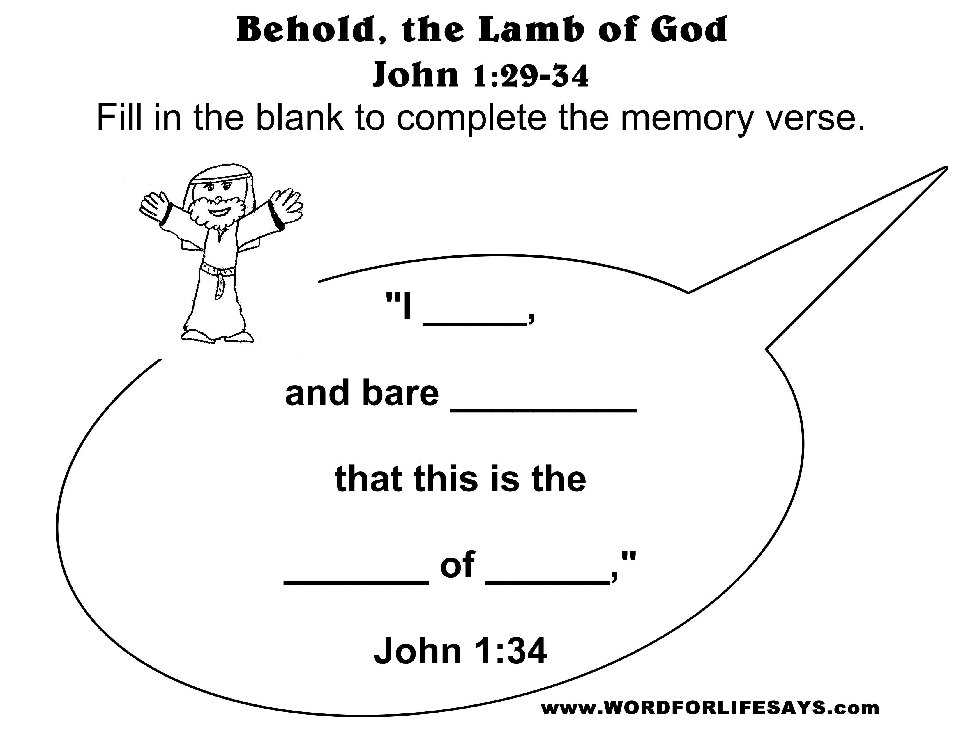 Beautiful John The Baptist Prepares The Way For Jesus
