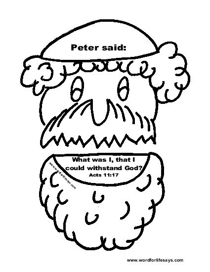 Peter And Cornelius Bible Coloring Page Sketch Coloring Page