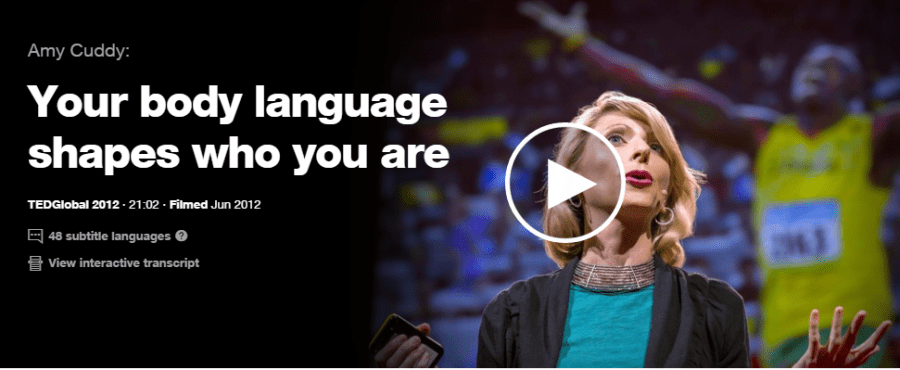 Amy Cuddy - Body language