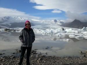 Mel near hot pools Iceland