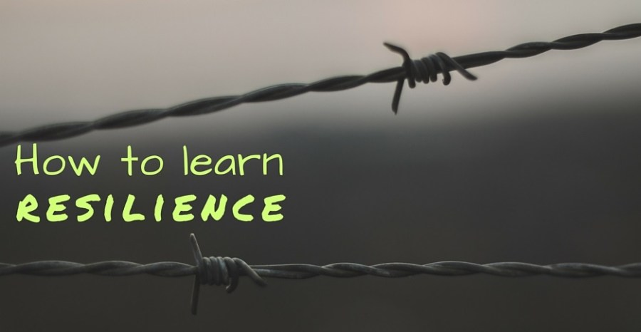 Title slide - How to learn resilience