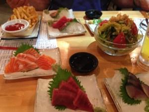 Sashimi dinner resized