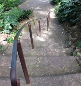 Stairway botanical gdns