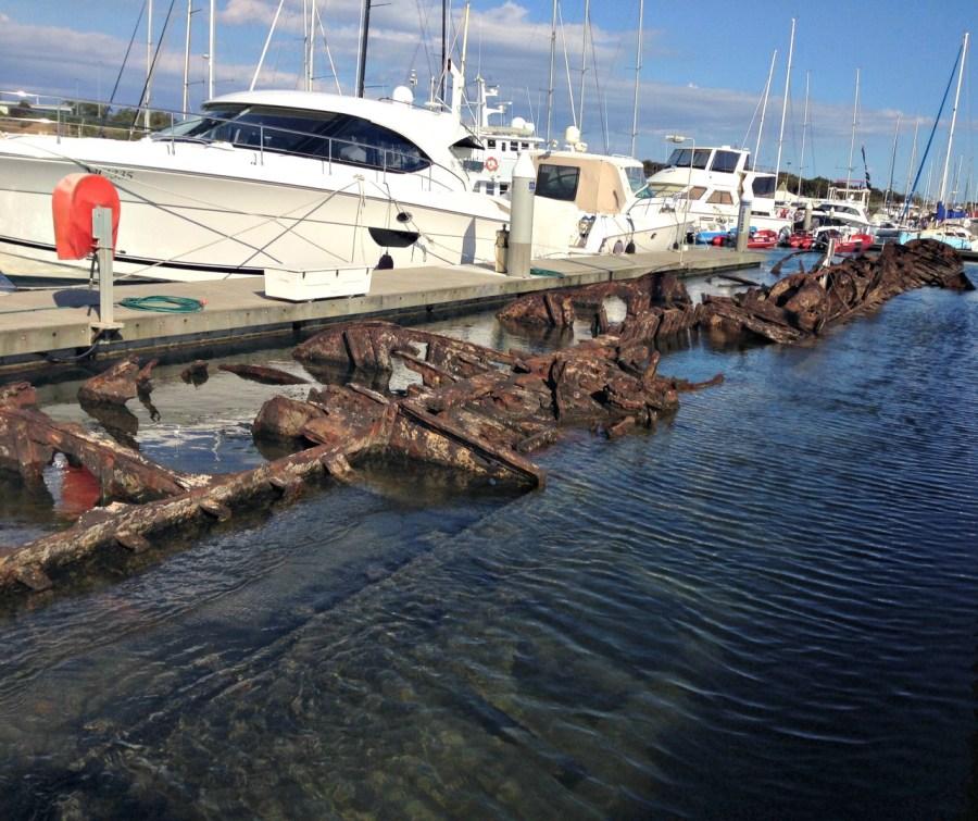 Submarine wreck