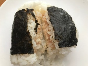 Tuna and mayonnaise flavoured onigiri