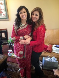The sister and I!