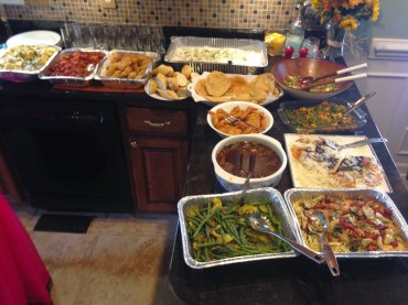 So much delicious food!