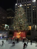 An item checked off my unofficial bucket list: visiting the Rockefeller Tree!