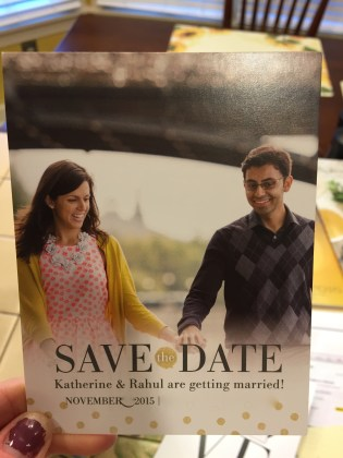 Our save the dates!