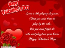 Valentines Day Wishes, Be My Valentine - Wordings and Messages
