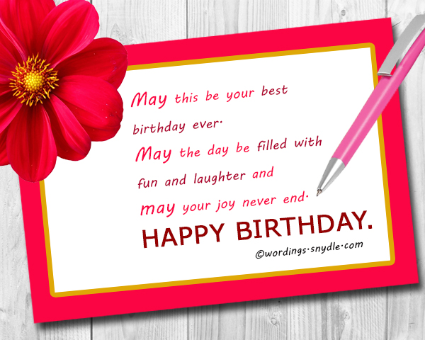Happy Birthday Card Messages For Friend Letterjdi