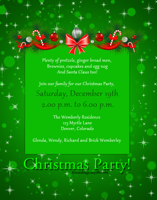 Announcement Party Invitations