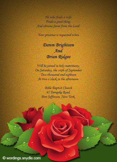 Catholic Wedding Invitation Cards Samples In Conjunction With Hindu Invitations Together Roman Wording