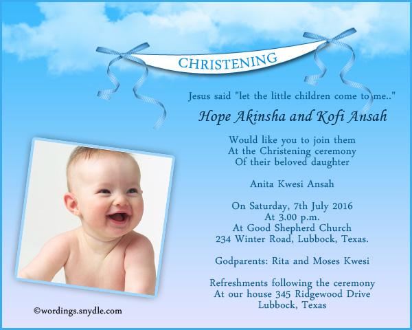 sample of invitation letter for christening rezzasite co