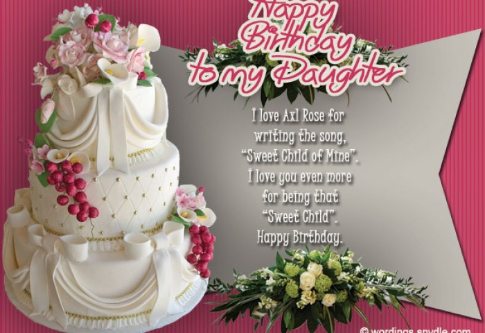 91 Birthday Wishes To Daughter From Mom To My Daughter Who Has
