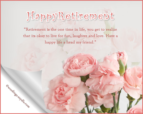 What to say in a retirement greeting card billingss retirement wishes greetings and messages wordings m4hsunfo