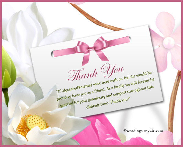 Thank You Sympathy Image Collections Download CV Letter